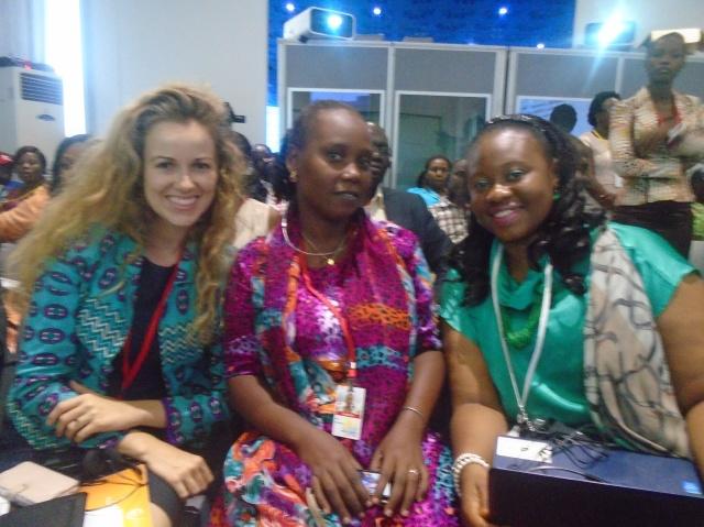 a gauche: Rachel Etter de Citizens for Justice (Malawi)