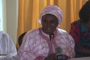 Hadja Sanaba KABA-Minsitre de l'Action Sociale