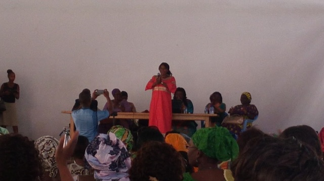 Mme Sanaba KABA-Ministre de l'Action Sociale