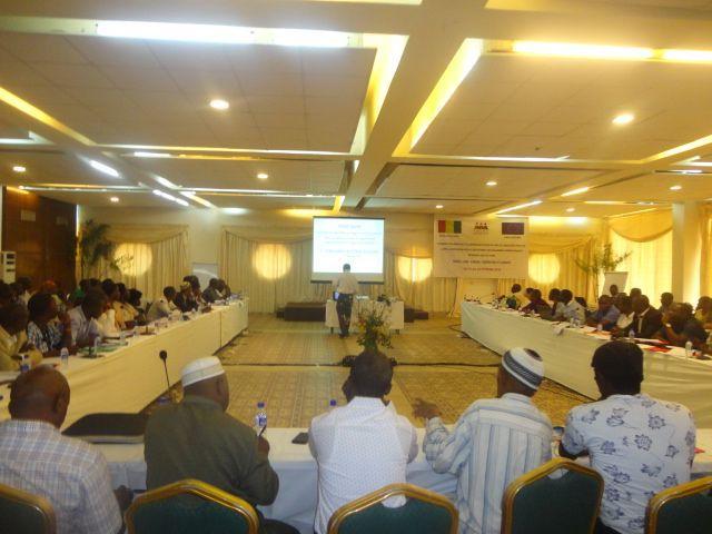 Atelier PASOC Conakry-le 23 Février 2016