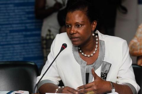 Mme Seraphine Wakana, Coordinarice SNU Guinée