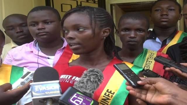 Présidente du Parlement des Jeunes de Guinée